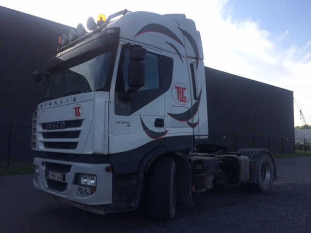 Iveco AS 500 FOR EXPORT / RETARDER / TIPPER HYDRAULIC ! VERKOCHT !
