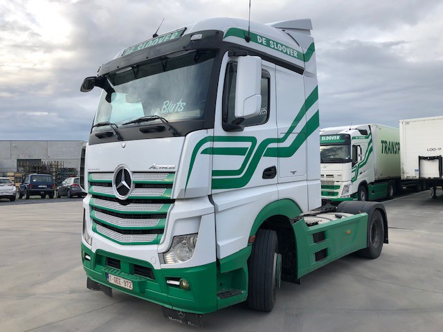Mercedes-Benz ACTROS 18.42 / FULL SPOILER SET ! VERKOCHT !